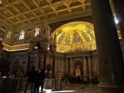 Rome, Saint-Paul hors les murs... dedans