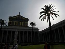 Rome, Saint-Paul hors les murs... dehors