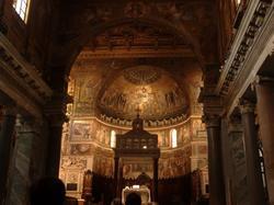 Rome, Sainte-Marie au Trastevere