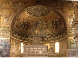 Rome, Sainte-Marie au Trastevere, abside