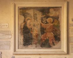 Rome, Sainte-Marie au Trastevere, Annonciation