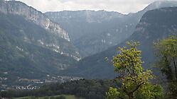 La Chartreuse, depuis la route de Voiron