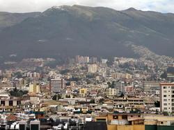 Quito, collines de Pichincha