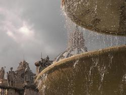 Une fontaine à Saint-Pierre